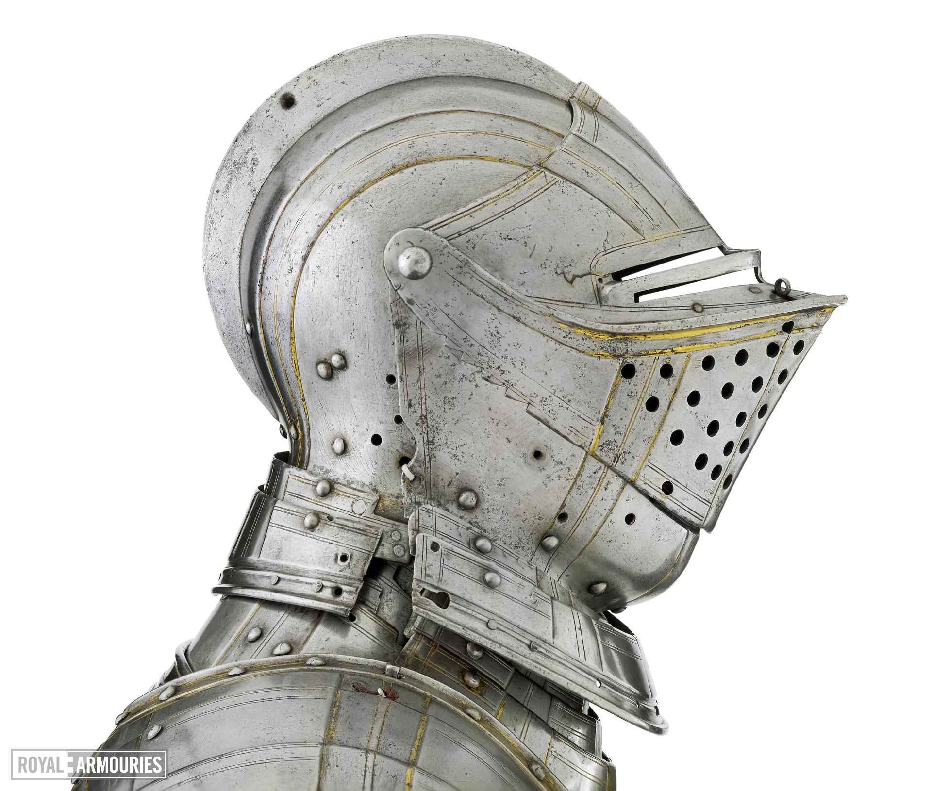Field armour, English, Greenwich, about 1550 (II.82)