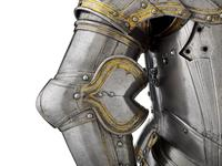 Thumbnail image of Field armour, English, Greenwich, about 1550 (II.82)
