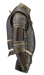Thumbnail image of Half armour, of William Herbert 1st Earl of Pembroke. North Italian, modified in England, about 1550 (II.358)