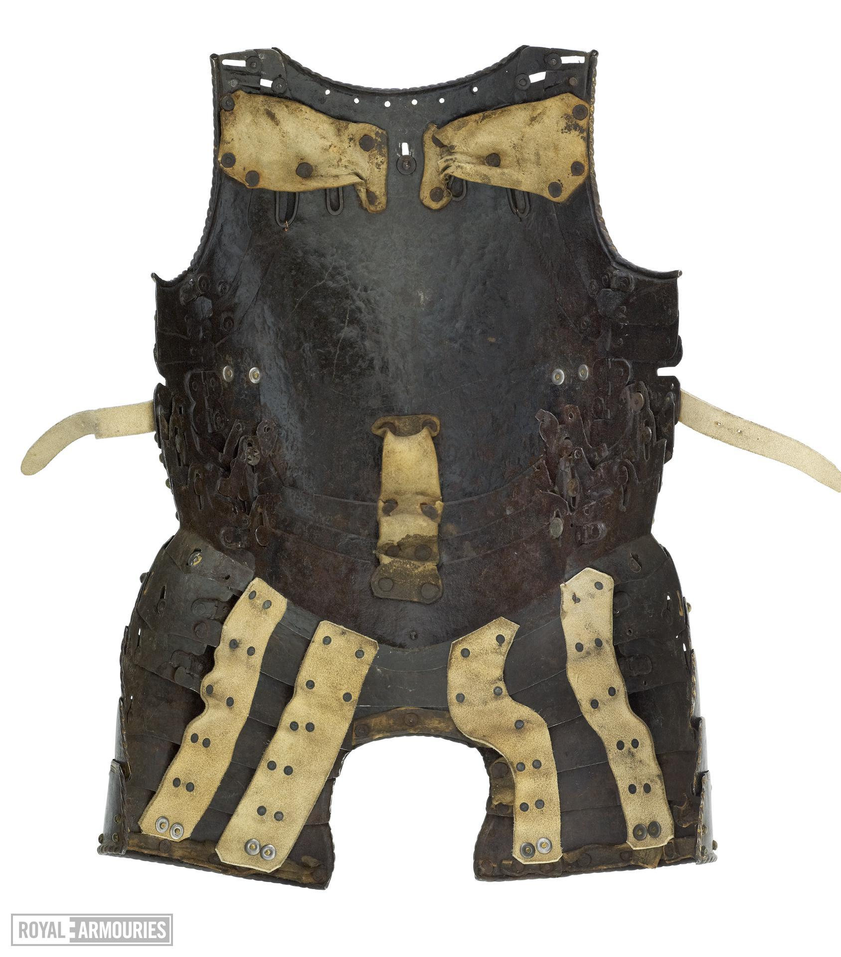 Half armour, of William Herbert 1st Earl of Pembroke. North Italian, modified in England, about 1550 (II.358)