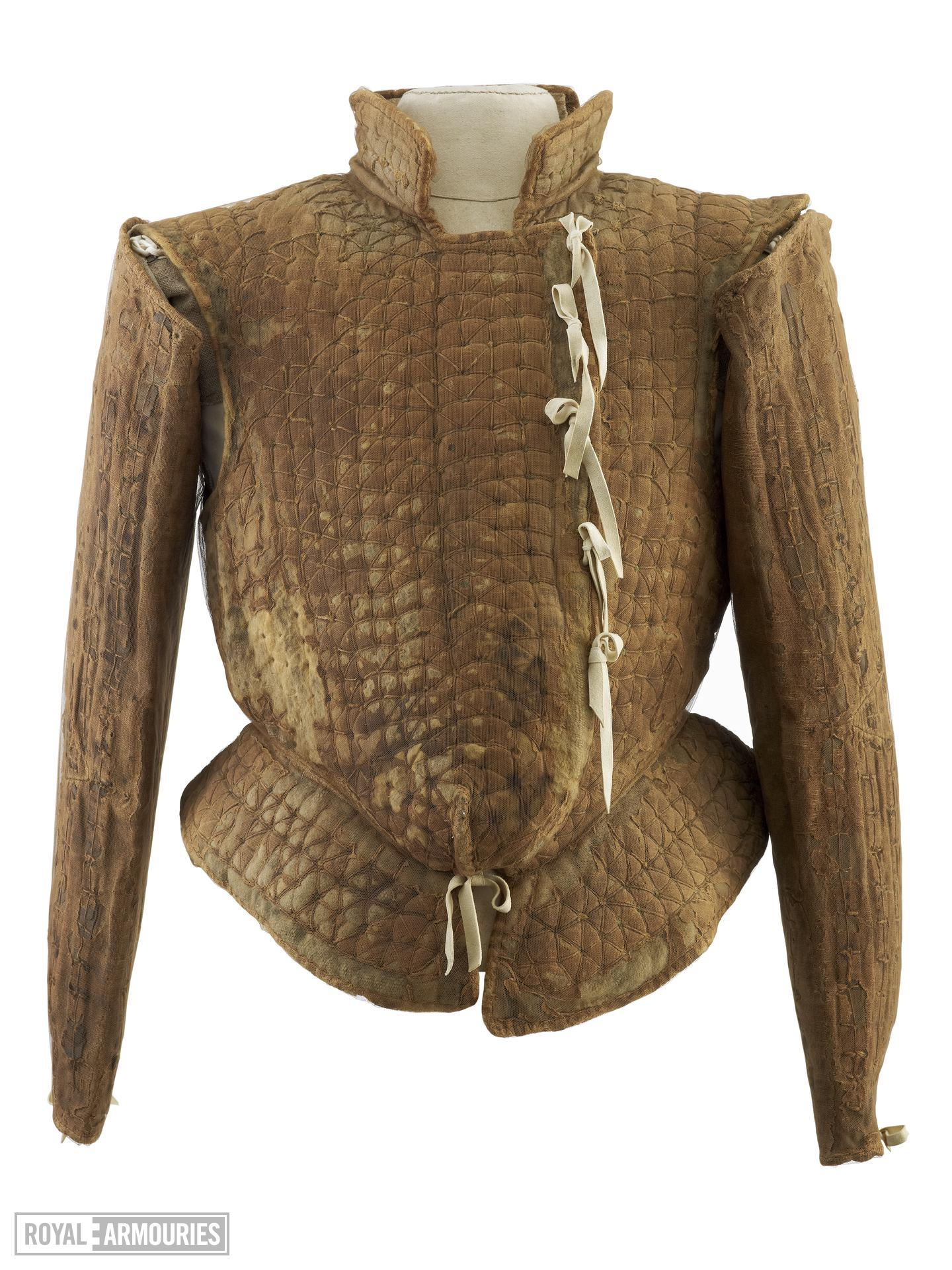 Jack of plate of peascod fashion, English, about 1560-1570 (III.1884)