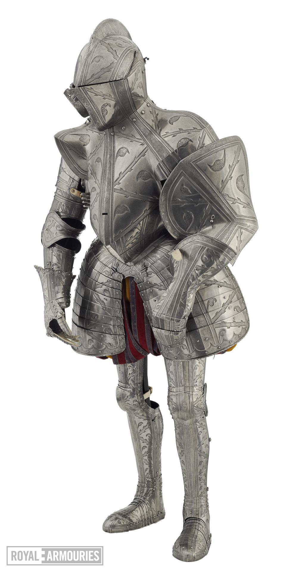 Field and tilt armour of Robert Dudley, Earl of Leicester (II.81)