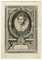 Thumbnail image of Engraving of Elizabeth I by E. Lutterell and P. Vanderbanck