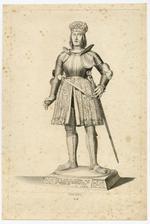Thumbnail image of 2/8 engravings of statues. No. II Philipp I.