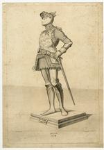 Thumbnail image of 8/8 engravings of statues. No. VIII Arthur.
