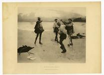 Thumbnail image of Photographic print entitled 'On Bideford Sands'.