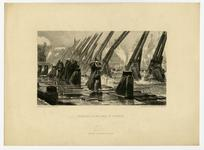 Thumbnail image of Print entitled 'Richelieu at the Siege of Rochelle'.