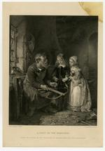 Thumbnail image of Print entitled 'A Visit to the Armourer'.