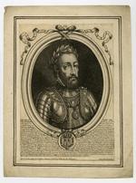 Thumbnail image of Engraving, 'Henry II, Roy de France'