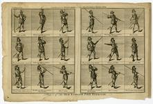 Thumbnail image of Plate I of the Old English Pike Exercise'