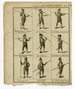 Thumbnail image of Plate II of Old English Pike Exercise'