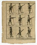 Thumbnail image of The Antient English Musket & Halbert Exercise. Plate 3'