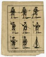 Thumbnail image of The Old English Halbert Exercise. Plate 4'