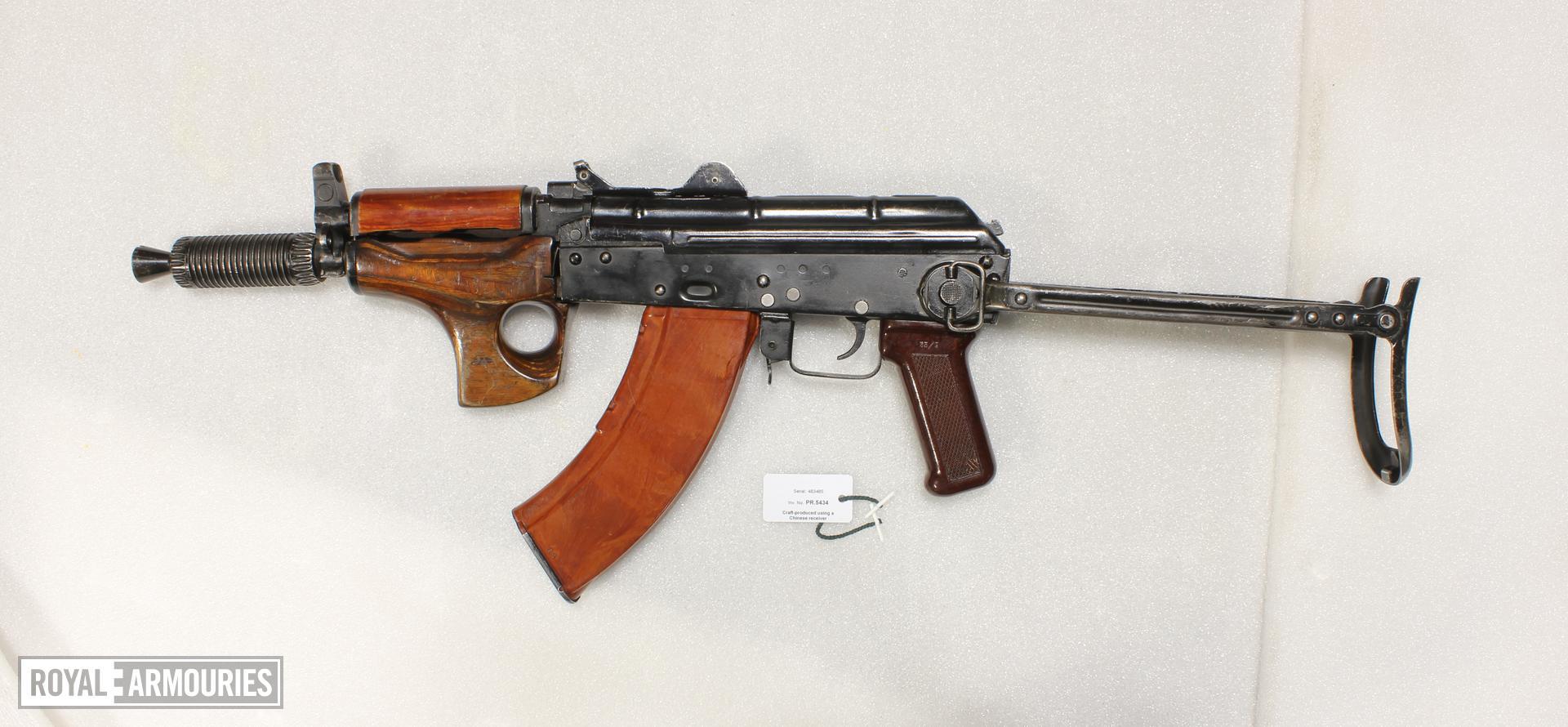 Centrefire automatic rifle - Kalashnikov 'AKM SU'
