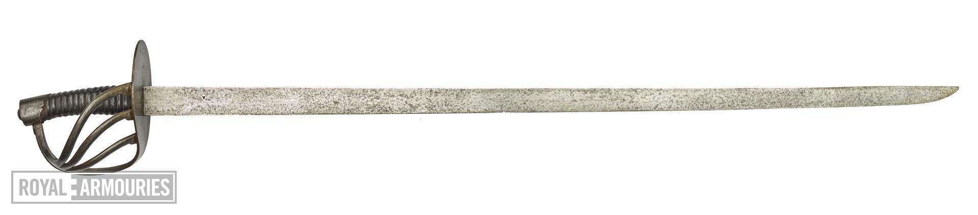 Sword - Belgian Number 3 Heavy Cavalry Sword