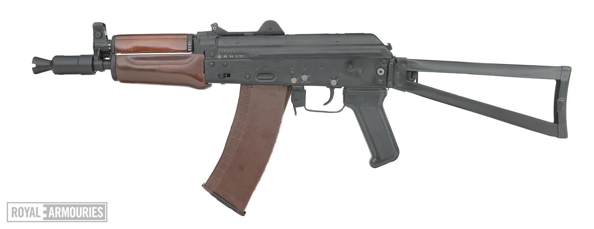 Centrefire automatic carbine - AR-SF (Kalashnikov AKS-74u)