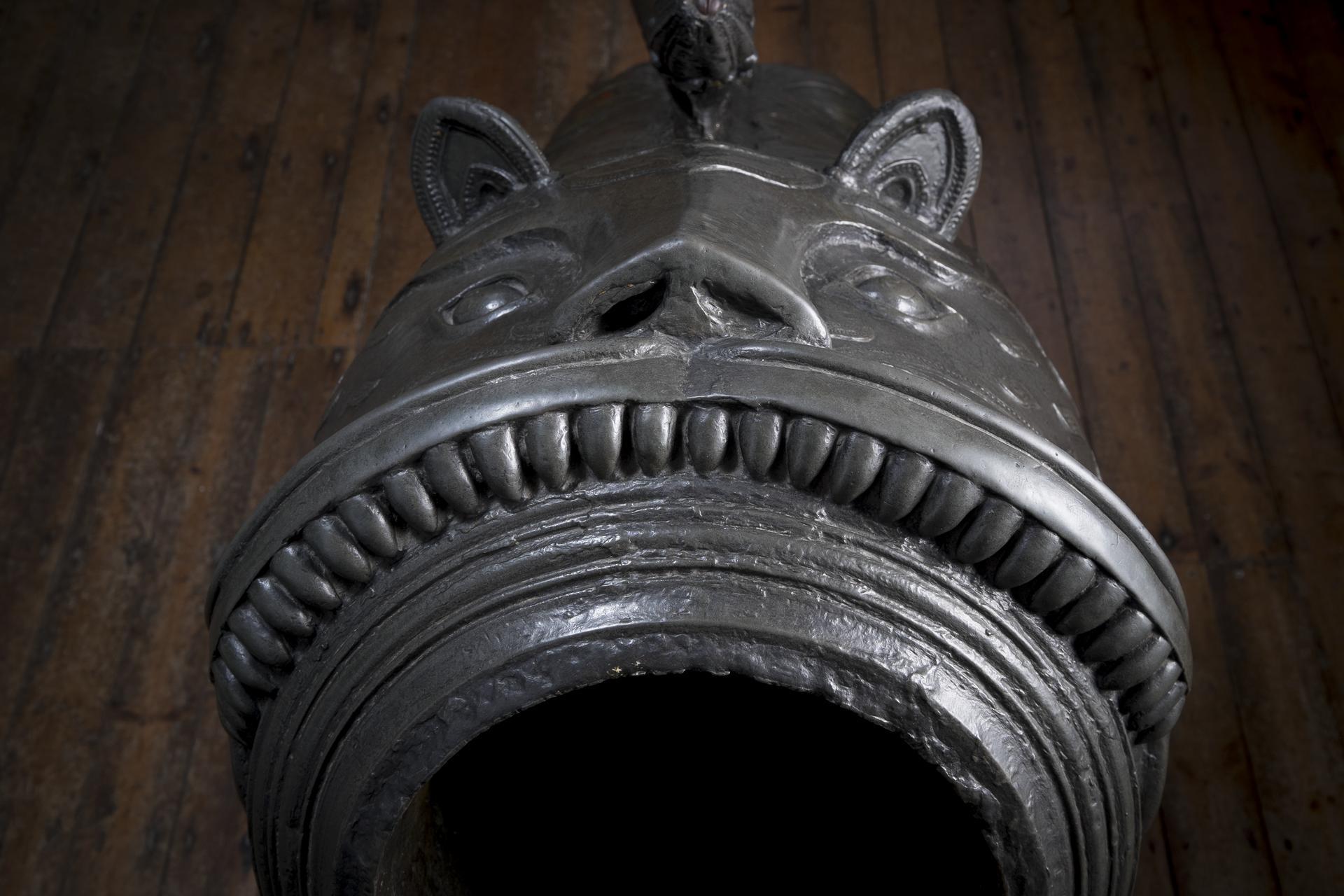 9.4 in mortar Made of bronze XIX.119