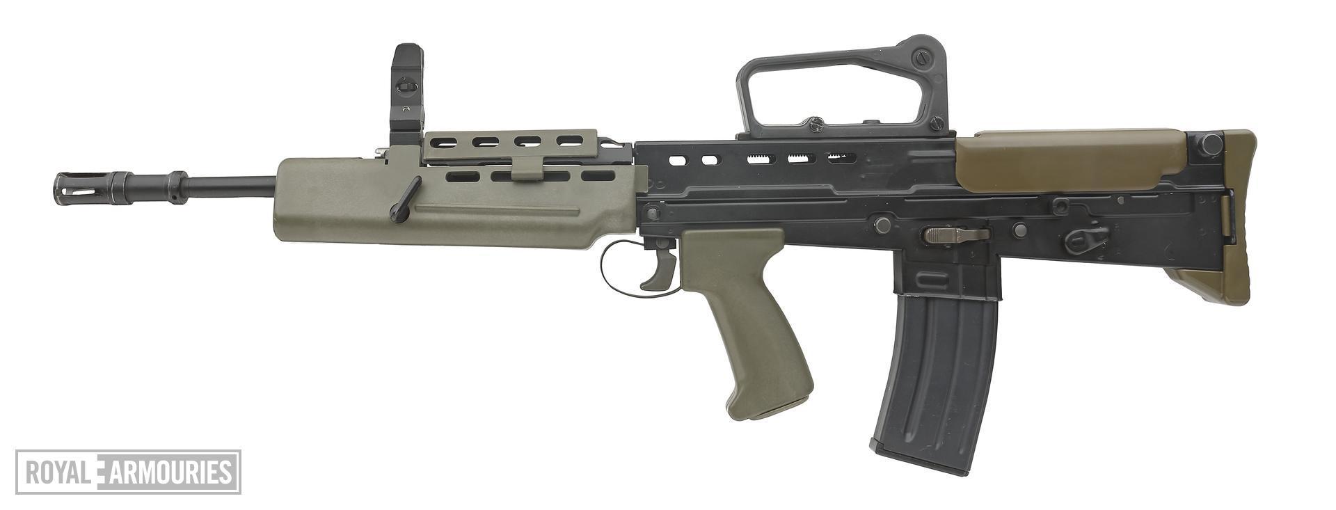 Centrefire automatic rifle - SA80 L85A1 Individual Weapon (IW)