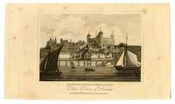 Thumbnail image of Print The Tower of London, dated 1815